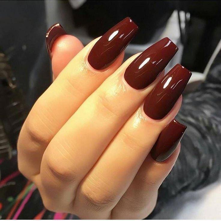Oh mein Gott, diese Farbe, sehr schön! # Nägel # Farbe # Schminke # Scharf # Mo …   – Nageldesign
