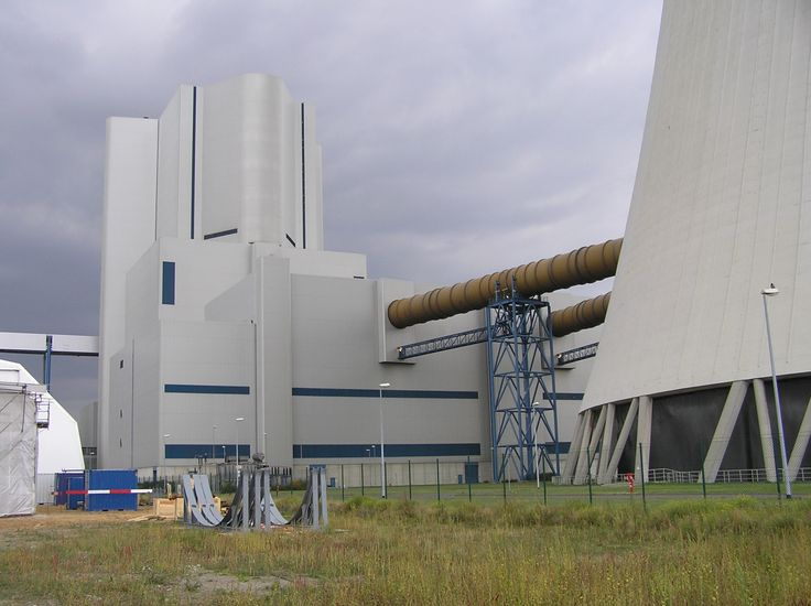 Coal-fired power plant Boxberg, Germany