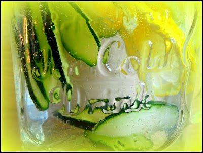 Citromos-uborkás limonádé