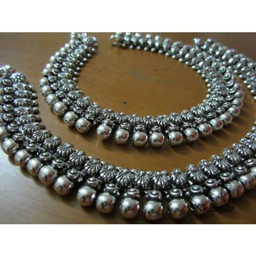 Online Shopping for Oxidized Anklet  | Anklets | Unique Indian Products by Nnazaquat - MNNAZ48802207530