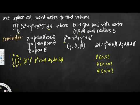 Triple integral in spherical coordinates to find volume - Vector Calculus
