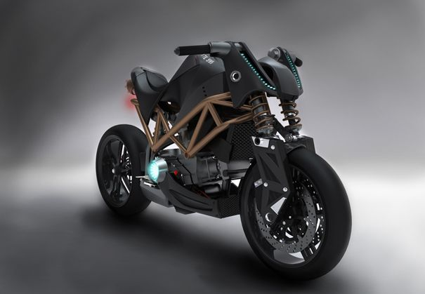 Nude Power Bike in Three Colors   Yanko Design