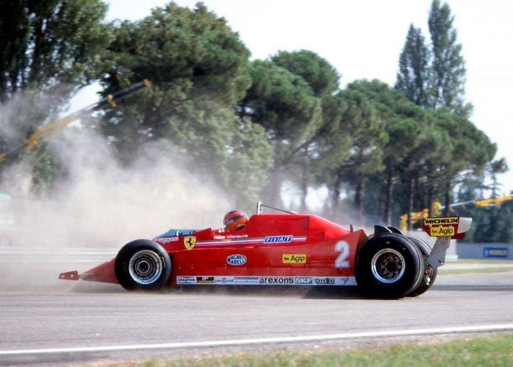Gilles Villeneuve - Ferrari 126C 1980 Italian Grand Prix