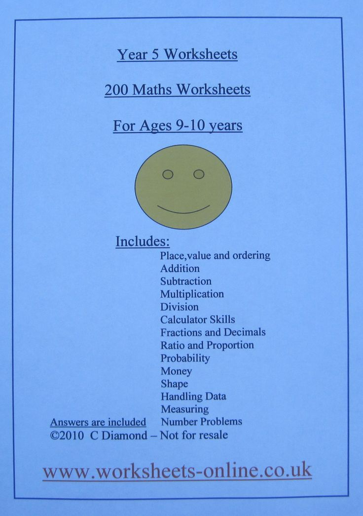 math worksheet : 1000 images about worksheets to buy on pinterest  year 5 maths  : Maths Worksheets For 10 Year Olds