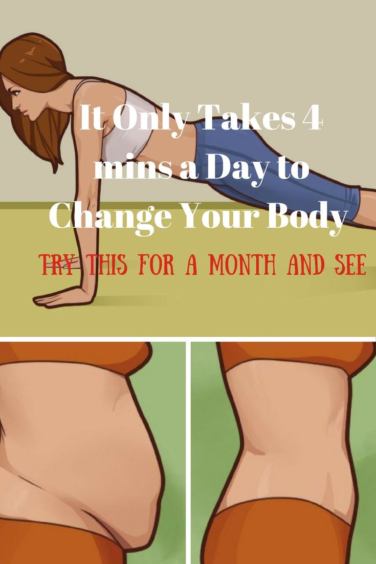 It Only Takes 4 Mins A Day To Change Your Body – Try This For A Month And See