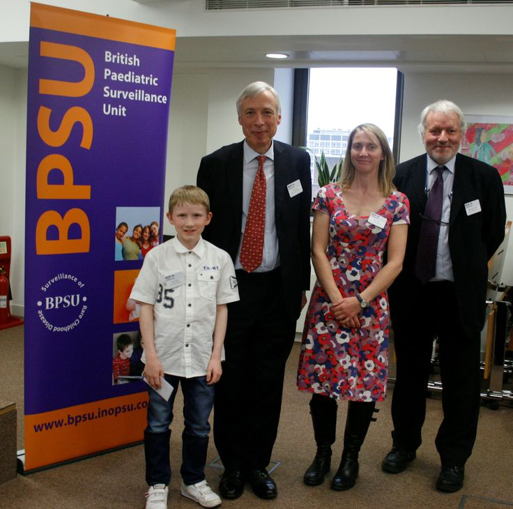 Earl Howe with Alex and mum