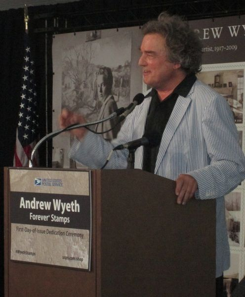 On the official 'Andrew Wyeth Day,' an overflow crowd packs the Brandywine River Museum of Art
