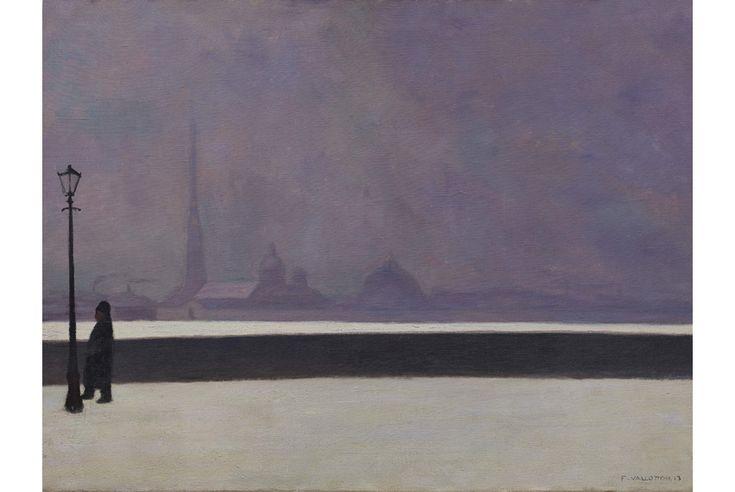 Félix Vallotton, La Néva, brume légère, 1913.