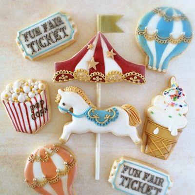 Biscoitos Decorados Confeitados | Circo