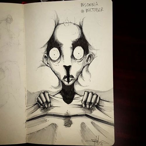 Artist Gives Haunting Illustrations To Different Mental Illnesses