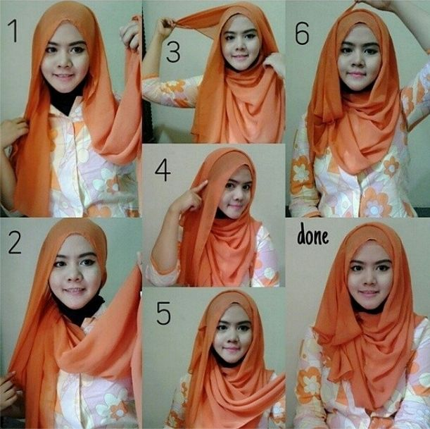 Lovely Summer Hijab Tutorial