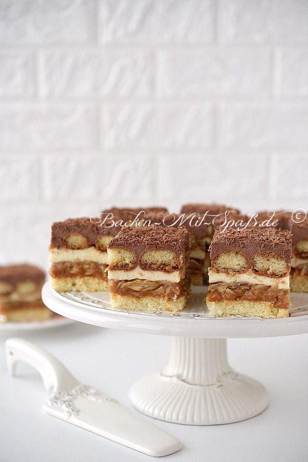 Karamell Sahne Kuchen Rezept Kuchen Und Torten Pinterest