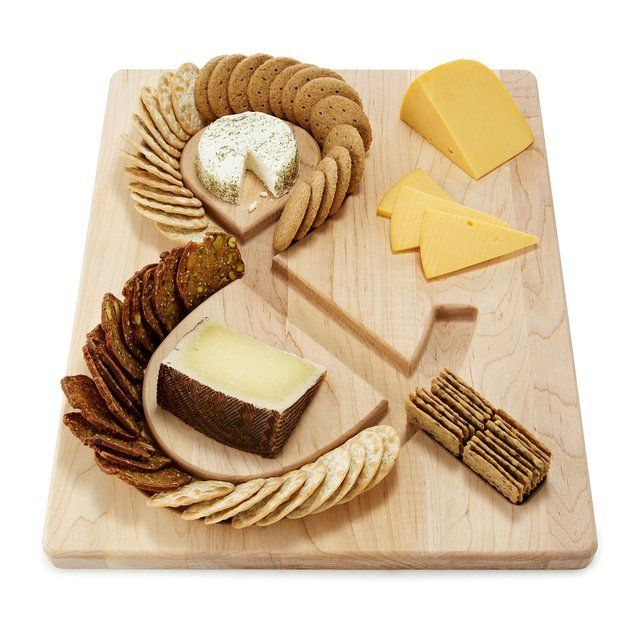 Fancy - Cheese & Crackers Serving Board
