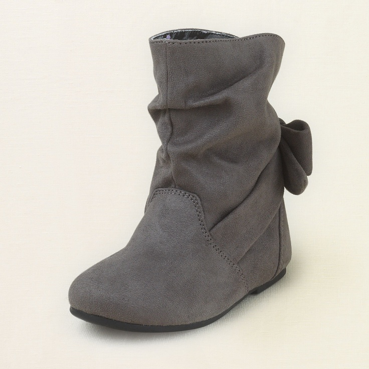 shoes - shoes - sienna bow bootie | Children's Clothing | Kids Clothes | The Children's Place