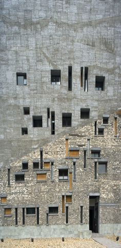 Ningbo History Museum, China by Wang Shu of Amateur Architecture Studio :: Pritzker Prize 2012
