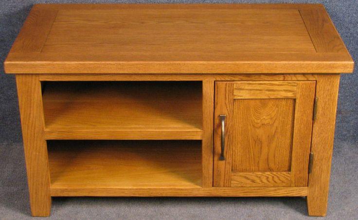 Modern Oak TV Stand / Entertainment Cabinet