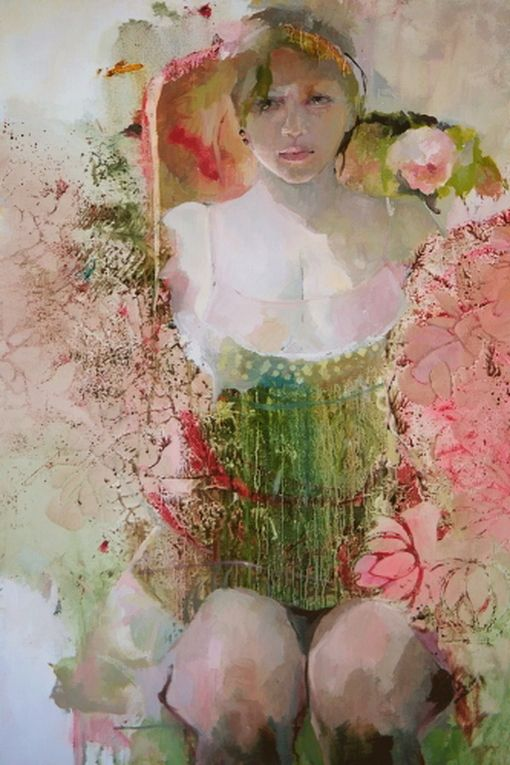 nabiloou:  Francoise de Felice- Sunflower (via Françoise de Felice — TOPIT.ME 收录优美图片)