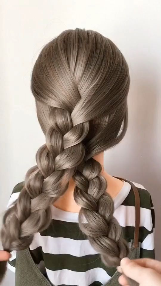 Women Casual Hair Style – #Casual #hair #steps #style #women