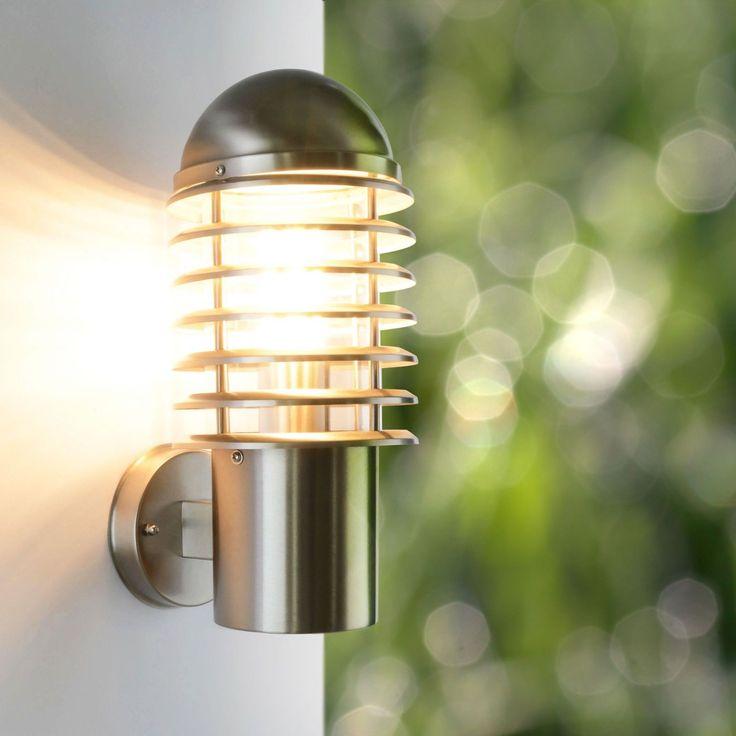 Außenleuchte Außenlampe Wandleuchte Edelstahl Lampe Außenlicht Wandlampe 252 | eBay
