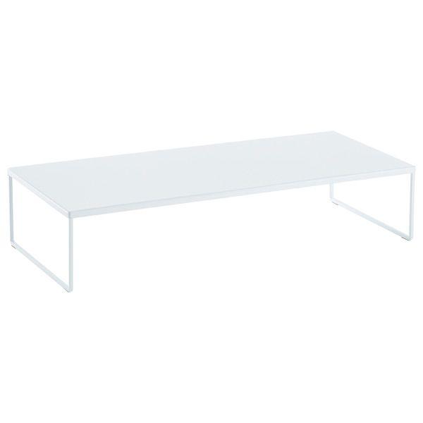 Large Franklin™ Desk Riser White — For printer