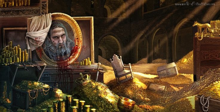 Blue Beard S Treasure Room By Laura Csajagi On Deviantart