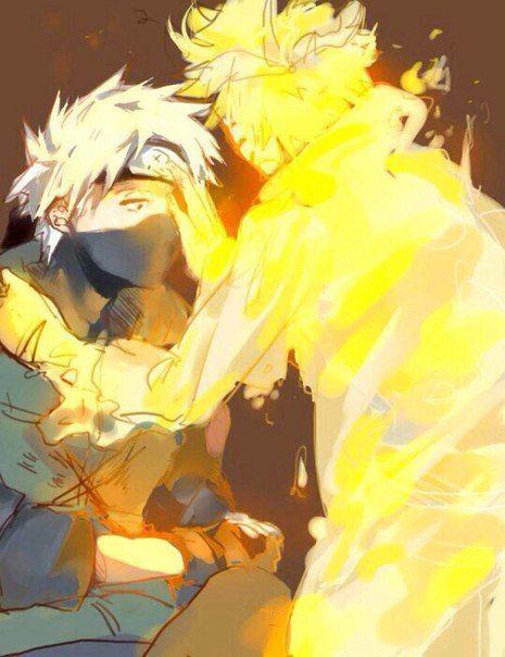 When Naruto healed Kakashi's eye