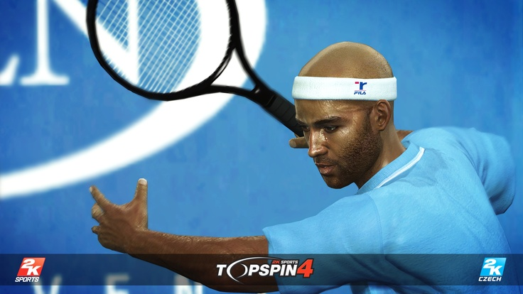 James Blake in Top Spin 4.
