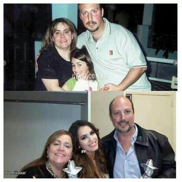 Lali y sus padres ♥