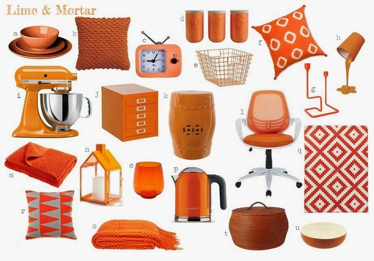 Lime & Mortar: Colour Pop: Orange