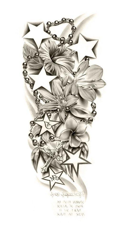 Tattoo Sleeve Drawings Designs: Sleeve-tattoo-designs-drawings-on-paper-tattoo-sleeve