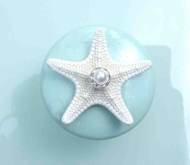 High Quality Sea Glass Cabinet Knobs