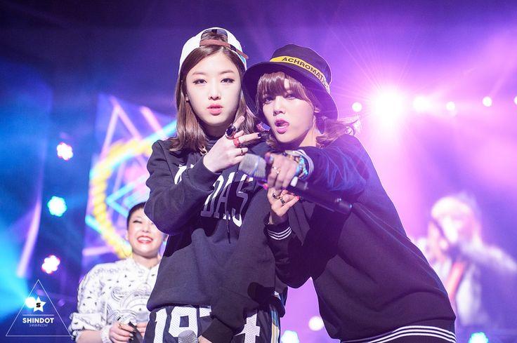 Unpretty Rapstar Kisum & Jimin 15/04/25