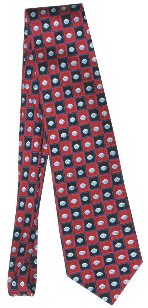 Viagra Tablet Pfizer Red Silk Necktie Neck Tie  New #Pfizer #NeckTie