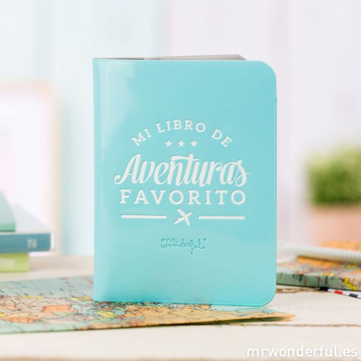 Funda para pasaporte - Mi libro de aventuras favorito