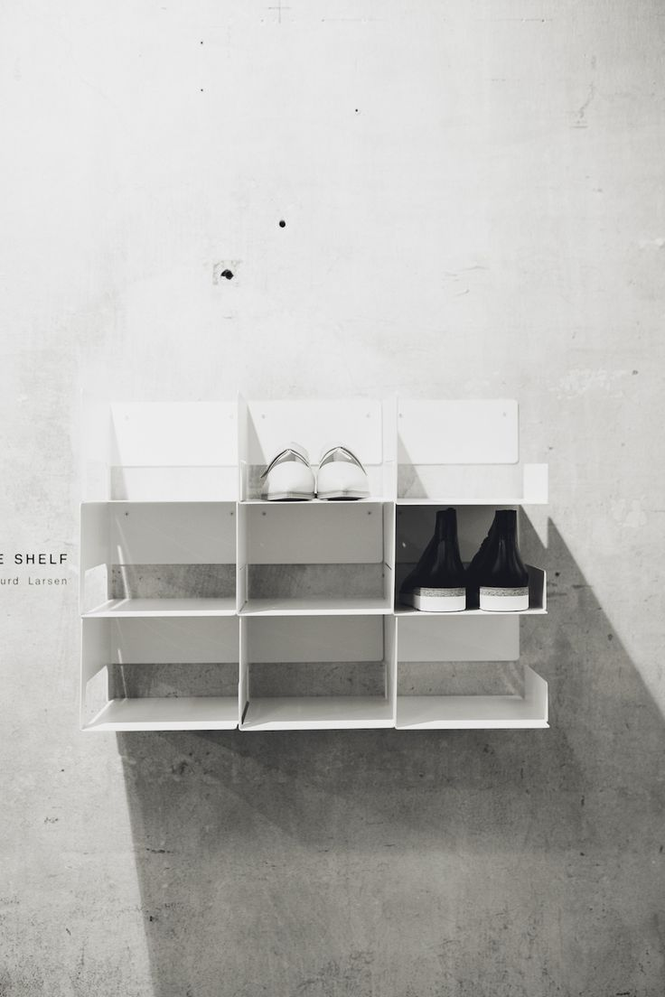 The Zign Shoe Shelf By Sigurd Larsen