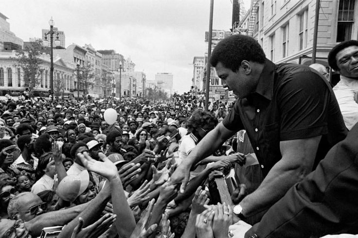 """<b>Ali before his match against Leon Spinks in New Orleans, 1978</b><br><br> <b>Bill Walton:</b>  """"Happy birthday, Champ! And after all these years, how remarkable it is that you still remain, simply, 'The Greatest.'  We are eternally grateful for your sacrifice, vision, leadership and courage. We salute you for your power, finesse, intellect, creativity, imagination and the ability to deliver inspiration and peak performance on command. But mostly we want to say thank you!""""…"""