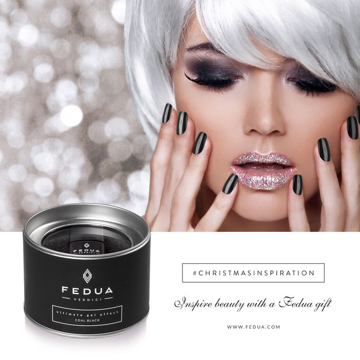 Sensual, strong and determined: it's Coal Back by Fedua and you can find it on www.feduacosmetics.com Sensuale, forte e determinato: è Coal Back di Fedua e lo trovi su www.feduacosmetics.com ‪#‎feduacosmetics‬ ‪#‎christmasinspiration‬ ‪#‎beautyinspiration‬