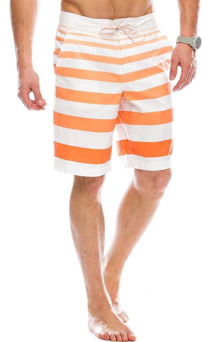 Ombre Stripe Swim Short - Swim - Mens - Armani Exchange