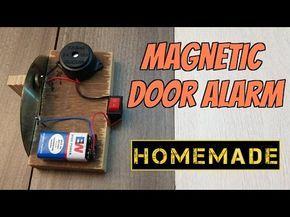 How to make a Door Alarm - Theft alert Alarm - YouTube