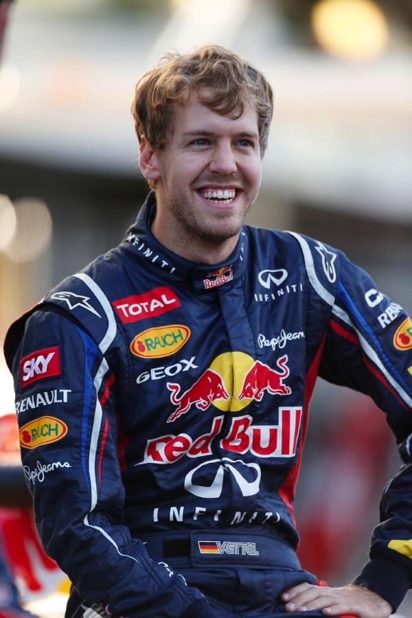 Sebastian Vettel, Friday in Brazil