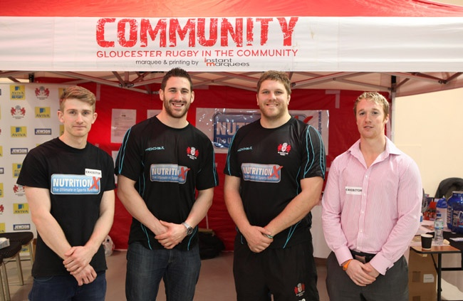 Gloucester Rugby and Nutrition X Join The Big Bang Three Counties. Science was top of the agenda at the Three Counties Showground, Malvern, recently when they hosted the first ever regional Big Bang Event. #Gloucester #Rugby #Science #Sports #Nutrition