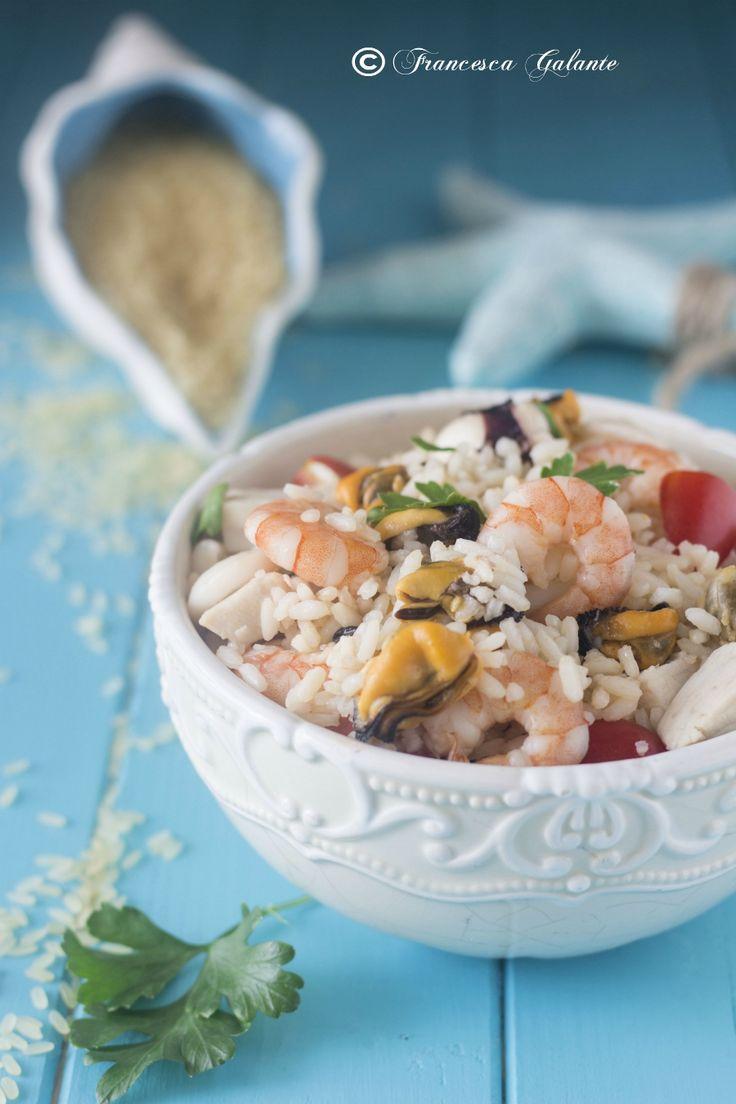 Riso insalata misto mare ricetta estiva