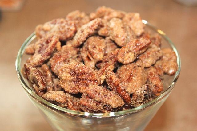 Cinnamon Sugar Pecans Recipe ~ super easy, super delish! Perfect homemade gift!!