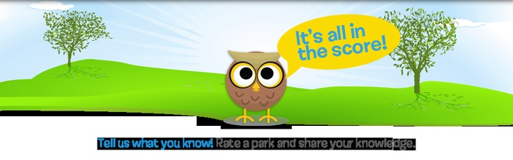 Rate a Park and Share Your Knowledge on ParkVisitor.com!!