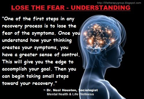UNDERSTANDING THE FEAR ~ Dr. Neal Houston, Sociologist (Mental Health & Life Wellness) EDUCATION & AWARENESS www.facebook.com/TheLifeTherapyGroup