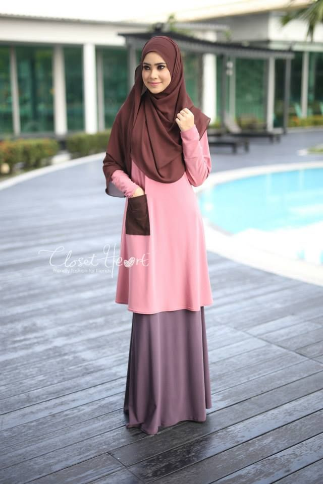 ALWANI TOP CODE : CHALT 179 AVAILABLE SIZE ( S, M, L only ) Color: Dusty Pink pocket Dark Brown  Material: Moss Crepe Price: RM100 (exclude postage)  SKIRT (SOLD OUT) Code: CHS 119 Color: Dusty Purple  Material: Moss Crepe Price: RM110 (exclude post)  WIDE SHAWL (READY STOCK) Code: DHCS 137 Color: Dark Brown  Material: Georgette Chiffon Price: RM49 (exclude postage)  *kindly PM us to purchase. tqvm