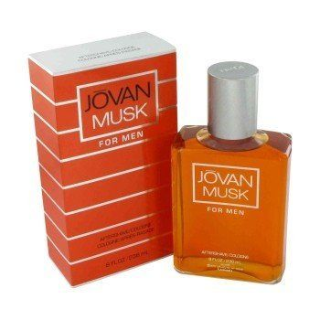 JOVAN MUSK by Jovan AFTERSHAVE COLOGNE 8 OZ for Men by Jovan. Save 35 Off!. $19.18. Aftershave/ Cologne Splash 8.0 Oz for Men. All our fragrances are 100% originals by their original designers. We do not sell any knockoffs or immitations.. We offer many great sales and discounts making this fragrance cheaper than at department stores.. Jovan Musk for Men Aftershave/ Cologne Splash 8.0 Oz. Packaging for this product may vary from that shown in the image above. JOVAN MUSK by Jovan M...