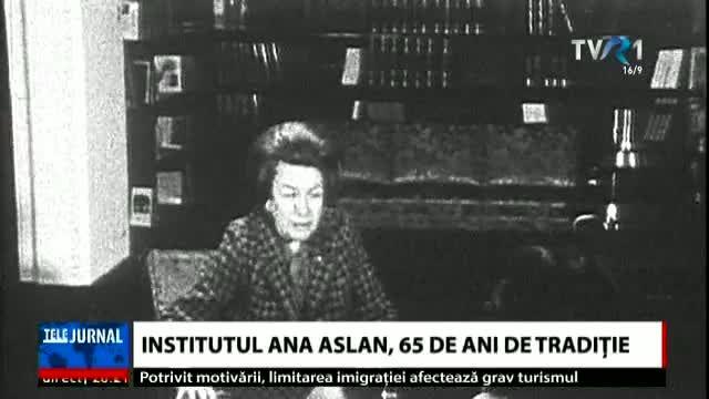 Miracolul românesc împotriva îmbătrânirii. Institutul Ana Aslan împlinește 65 de ani. IMAGINI DE ARHIVĂ