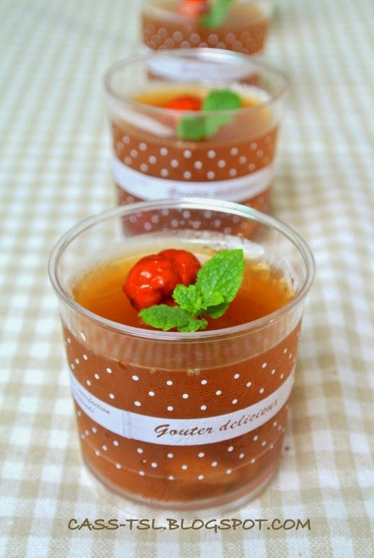 Coral Seaweed Jelly