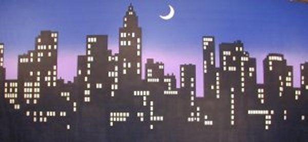 new york city skyline silhouette - Google Search